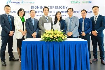 Công bố đầu tư chiến lược vào Kyna.vn và Kynabiz.vn, Navigos nắm quyền điều hành hai nền tảng học trực tuyến từ hôm nay