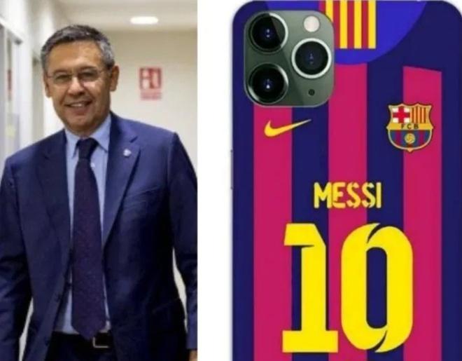 Chu tich Barcelona tang iPhone 11 Pro Max cho cau thu dip Giang sinh hinh anh 1 Screenshot_2.jpg