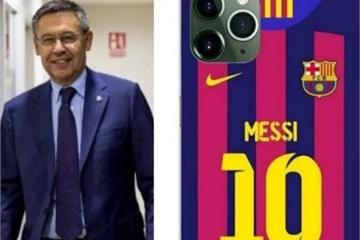 Chủ tịch Barcelona tặng iPhone 11 Pro Max cho cầu thủ dịp Giáng sinh