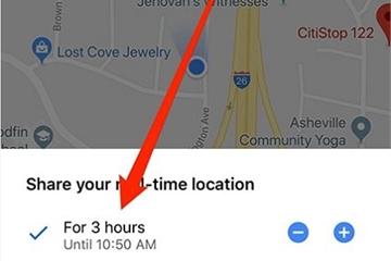 Hướng dẫn chia sẻ vị trí trên Google Maps