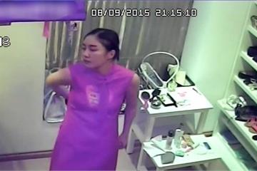 Sốc: Văn Mai Hương bị lộ loạt clip nhạy cảm từ camera an ninh trong nhà riêng?