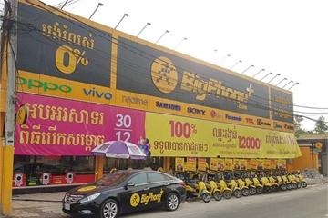 """BigPhone+ chính thức khai trương, Thế Giới Di Động """"nổ súng"""" cho cuộc chơi lớn hơn ở Campuchia"""