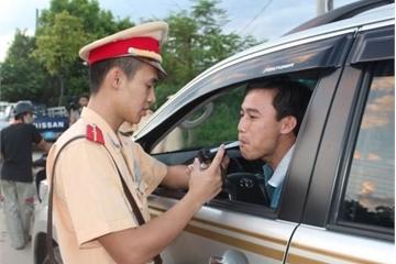 CSGT phạt 2.673 trường hợp vi phạm nồng độ cồn sau 6 ngày ra quân