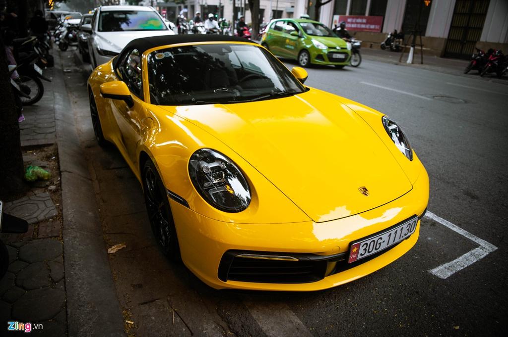 Porsche 911 Carrera S Cabriolet 2020 dau tien ve Viet Nam hinh anh 3 BAC_6414_zing.jpg