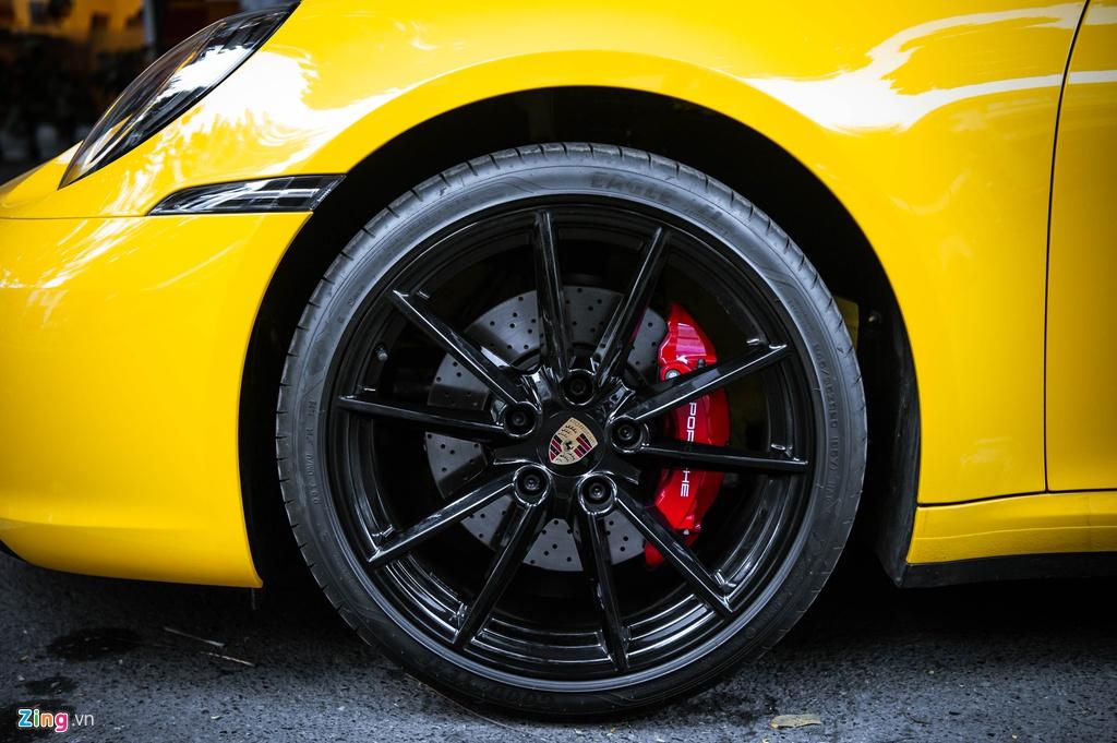 Porsche 911 Carrera S Cabriolet 2020 dau tien ve Viet Nam hinh anh 8 BAC_6441_zing.jpg