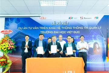 Đại học Việt Đức rót hơn 24 tỷ đồng để số hóa hệ thống quản lý