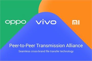 Ba hãng điện thoại Trung Quốc liên minh phát triển AirDrop cho Android