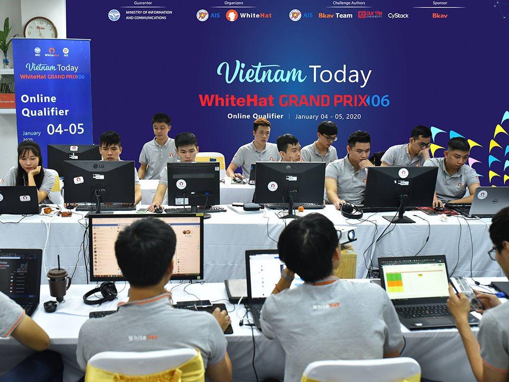 Công bố danh sách 10 đội vào chung kết cuộc thi an toàn không gian mạng toàn cầu WhiteHat Grand Prix 06 | Mỹ dẫn đầu 10 đội vào vòng chung kết WhiteHat Grand Prix 06 do Việt Nam tổ chức