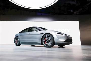 Sony bất ngờ ra mắt concept xe điện Vision-S tại CES 2020