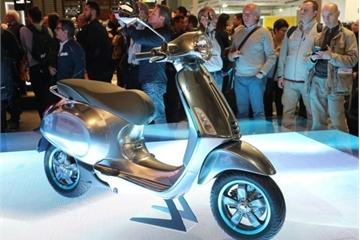 Đăng kiểm xong, xe máy điện Vespa Eletrica sẵn sàng ra mắt tại Việt Nam trong năm nay