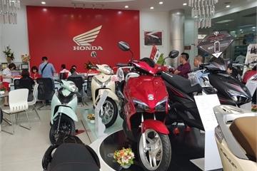 Honda, Yamaha, Suzuki, SYM và Piaggio bán hơn 3,2 triệu xe máy tại Việt Nam