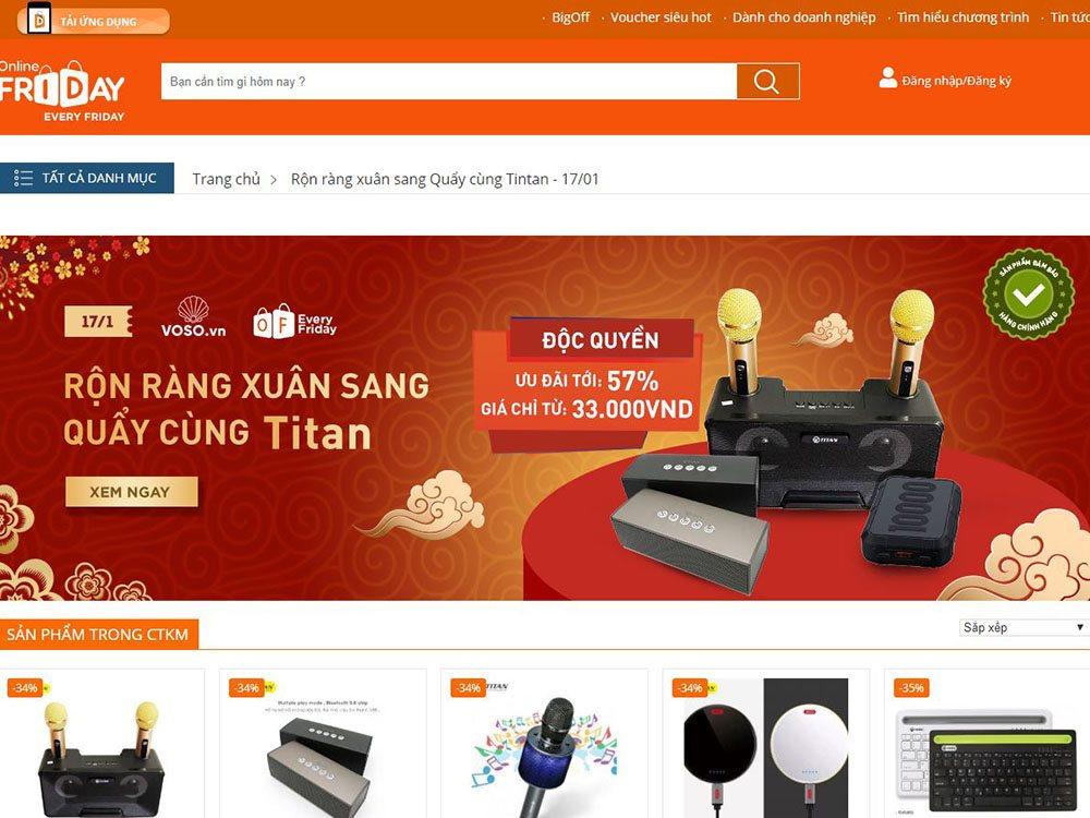 Công bố kế hoạch triển khai Online Friday 2020 | Mỗi thứ sáu hàng tuần có một sản phẩm chính hãng được bán giá ưu đãi trên Online Friday