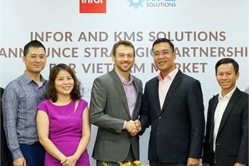KMS hợp tác với Infor, cung cấp giải pháp chuyển đổi số trong quản lý kho vận và quản lý tài chính.