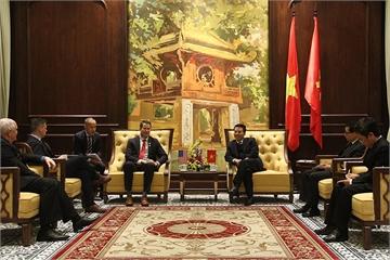 Việt Nam nhờ Mỹ kiểm định thiết bị 5G do Việt Nam sản xuất để có đủ khả năng vào thị trường Mỹ
