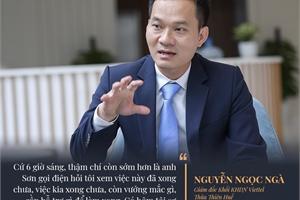 Những cú điện thoại lúc 6h sáng và giải thưởng châu Á của dự án smartcity Thừa Thiên Huế