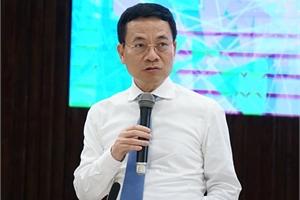 """Bộ trưởng Nguyễn Mạnh Hùng: """"Những thuật ngữ Make in Vietnam, xã hội số… đã trở nên quen thuộc và tạo sức mạnh cho người dân, doanh nghiệp"""""""