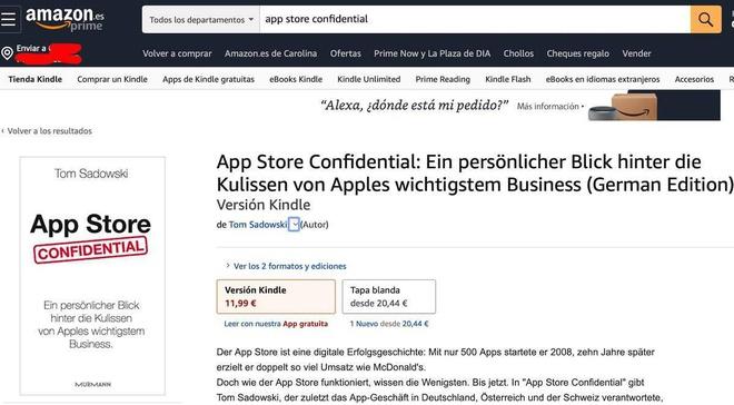 Cuon sach dang khien Apple so hai hinh anh 1 Amazon.jpg