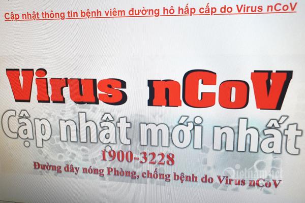 Website theo dõi tình hình lây nhiễm virus Corona 24/7