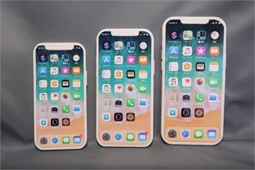 Chi tiết mô hình 3 chiếc iPhone 12