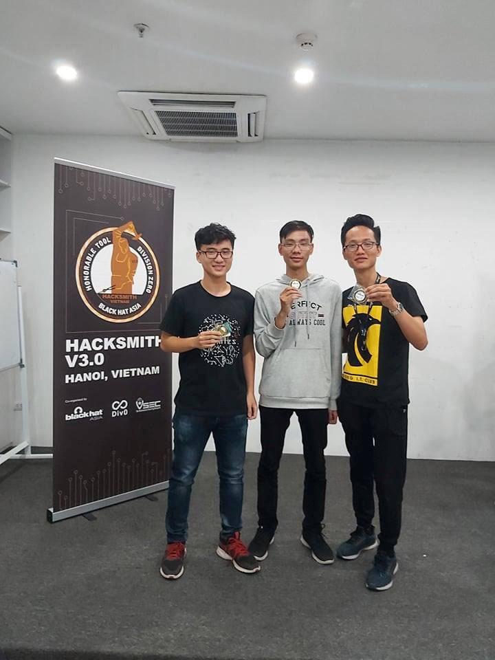 3 đại diện trẻ tuổi của Việt Nam tham dự Black Hat Asia 2020 | 3 sinh viên năm thứ nhất của Việt Nam sẽ dự sự kiện quốc tế về bảo mật Black Hat Asia 2020