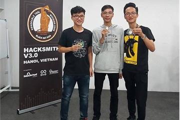 3 sinh viên Việt Nam sẽ dự sự kiện quốc tế về bảo mật Black Hat Asia 2020