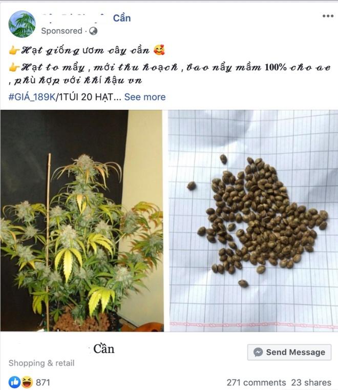 Facebook van nhan tien de quang cao can sa, ca cuoc o Viet Nam hinh anh 1 Screenshot_130.jpg