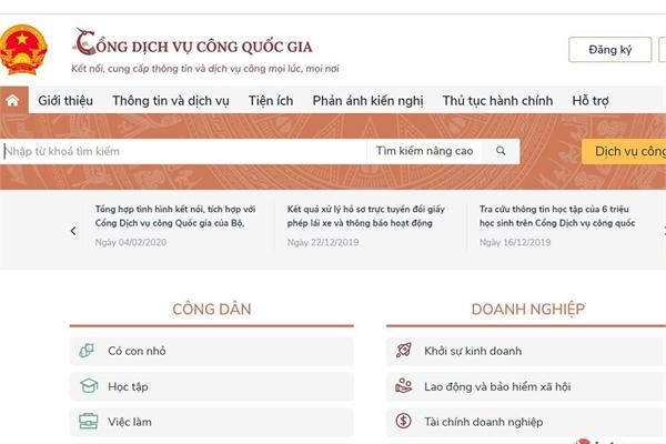 Tích hợp dịch vụ khai, nộp lệ phí trước bạ ô tô, xe máy lên dichvucong.gov.vn trong quý I