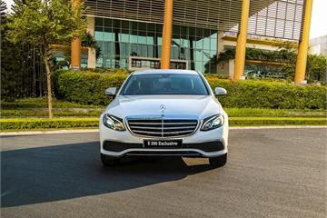 Mercedes-Benz E 200 Exclusive 2020 thế E 200 Sport, ra mắt thị trường Việt Nam với giá 2,3 tỷ đồng