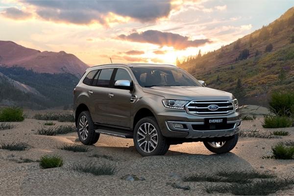 Ford Ranger và Everest 2020 cập bến thị trường Việt Nam