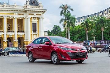 Doanh số Toyota Vios, Innova, Fortuner giảm mạnh