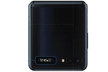 Hướng dẫn về màn hình gập của Galaxy Z Flip