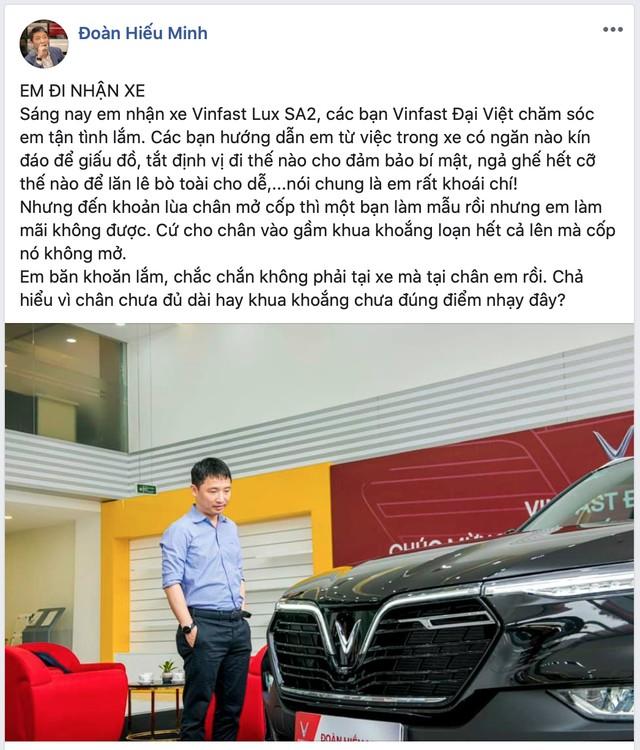 'Ông trùm' Rolls-Royce Việt Nam mua VinFast Lux SA2.0 với màu sơn và trang bị gây bất ngờ - Ảnh 2.