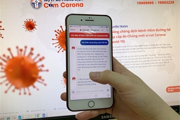 Bộ Y tế ra mắt trợ lý ảo hỏi đáp về Covid-19
