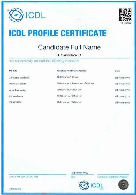 Thêm chứng chỉ tin học nước ngoài được công nhận ở Việt Nam | Chứng chỉ tin học quốc tế ICDL được công nhận tại Việt Nam