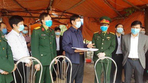 Bộ Y tế cử 2 đội công tác đặc biệt trực 24/24 ở Bình Xuyên giúp chống Covid-19