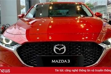 Triệu hồi xe Mazda3 2020 tại Việt Nam do lỗi phanh tự động thông minh SBS