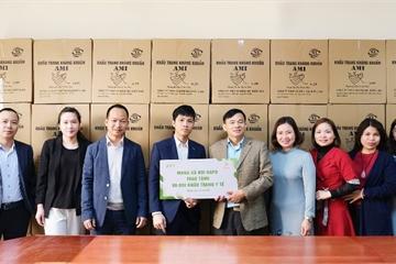 Mạng xã hội Gapo trao tặng 80.000 khẩu trang y tế kháng khuẩn - Chung tay vì sức khỏe cộng đồng
