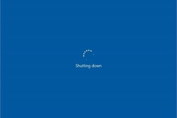 Hướng dẫn tạo shortcut Shutdown trên Windows 10 để tắt máy nhanh