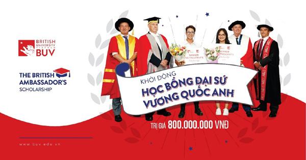 Đại học Anh Quốc Việt Nam khởi động quỹ học bổng 40 tỷ đồng