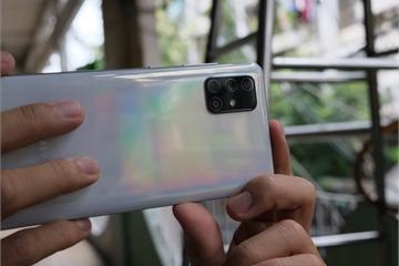 Chụp ảnh xoá phông bằng camera của Samsung Galaxy A71