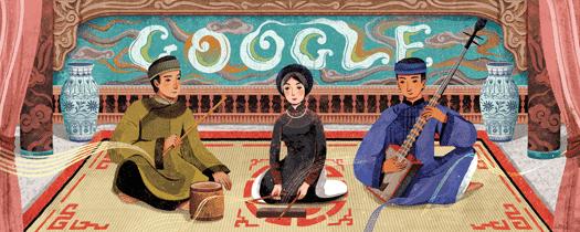 Google tôn vinh ca trù Việt Nam