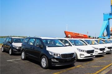 Thaco xuất khẩu lô xe Kia Sedona đầu tiên sang Thái Lan