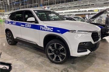 VinFast lắp thử nghiệm xe chuyên dụng cho Cảnh sát giao thông Việt Nam?