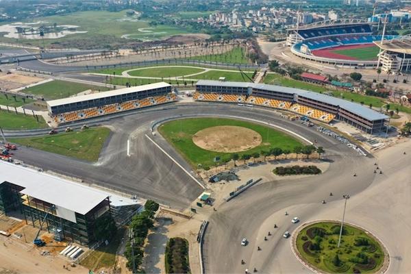 Đường đua F1 đã hoàn thiện: dài 5,6 km, 23 khúc cua độc đáo sẵn sàng khởi tranh