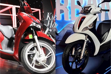 Piaggio Medley 2020 có gì để so kè Honda SH?