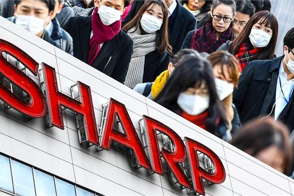 Sharp sản xuất khẩu trang đáp lời kêu gọi của chính phủ Nhật Bản