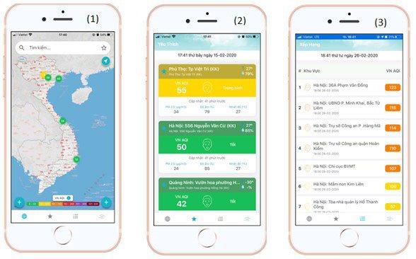 Công bố chất lượng môi trường không khí qua ứng dụng di động Envisoft | Tổng cục Môi trường công bố thông tin chất lượng không khí qua ứng dụng di động Envisoft
