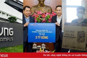"""""""Đại gia"""" công nghệ Việt ủng hộ hàng chục tỷ phòng chống dịch Covid-19"""