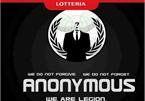 Website Lotteria Việt Nam bị nhóm hacker khét tiếng Anonymus tấn công?