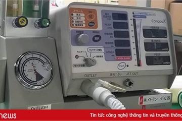 Máy trợ thở Metran: Sản phẩm trị Covid-19 của một người Việt Nam ở Nhật